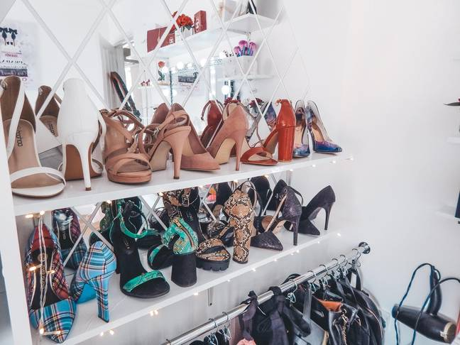 Now Monika has space for her shoe collection (Credit: Latestdeals.co.uk)