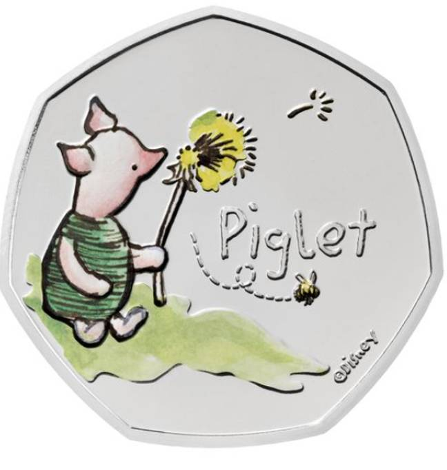 You can buy the Piglet coin now (Credit: Royal Mint)