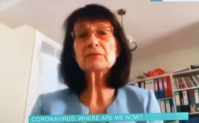 Dr Jenny was on the show to discuss the coronavirus pandemic (Credit: ITV)