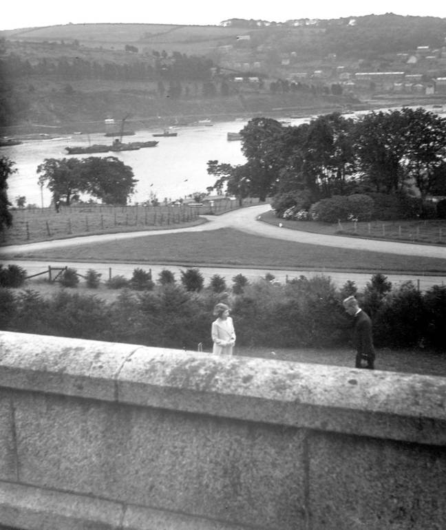 Elizabeth was 13 when she met Philip at the Britannia Royal Naval College in Dartmouth (Credit: Britannia Royal Naval College)