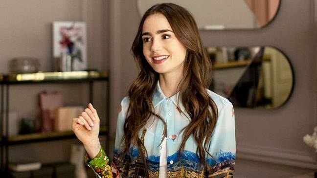Lily Collins says her character Emily Cooper is 22 (Credit: Netflix)