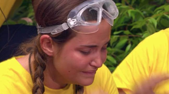 Jacqueline Jossa was freaking out ahead of the trial (Credit: ITV)