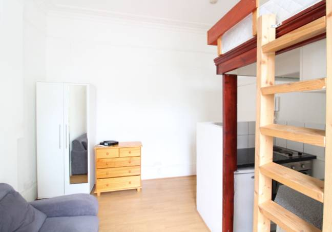 The flat certainly painted a depressing picture of London's rental scene (Credit: Zoopla)