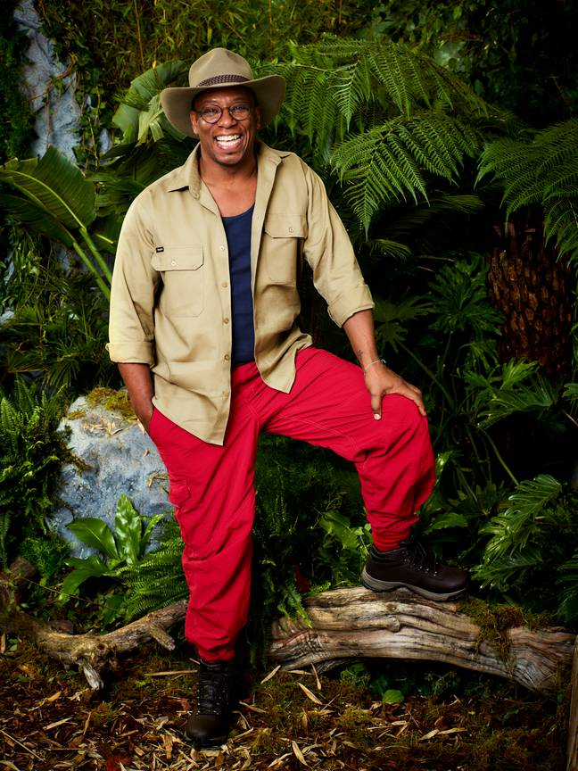 Ian Wright will join camp later this week. (Credit: ITV)