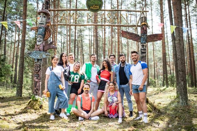 'Killer Camp' is on until Halloween. (Credit: ITV)