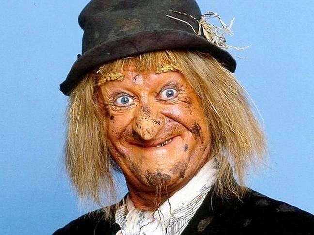 Friends said she looked like Worzel Gummidge (Credit: Fabulous Films)