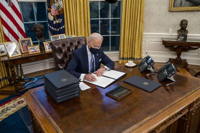 Biden wasted no time rejoining the Paris Climate Agreement (Credit: PA)
