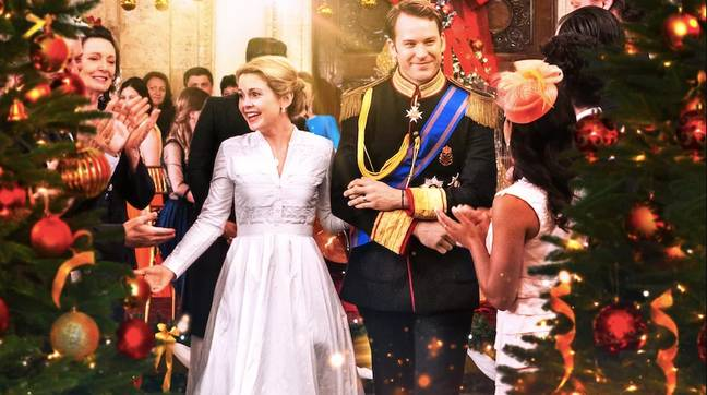 In the second instalment, Amber and Prince Richard get hitched (Credit: Netflix)