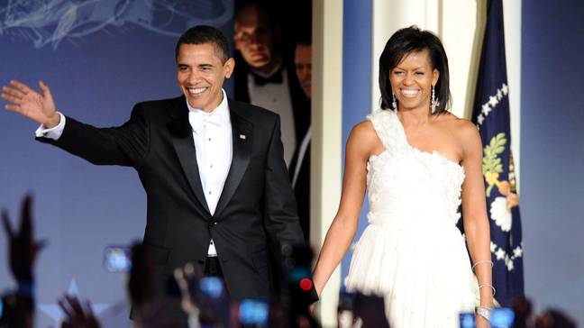 Barack and Michelle Obama (Credit: PA)