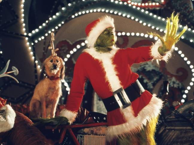 Jim Carrey makes for a hilarious grinch who wants to steal Christmas (Credit: Universal Pictures)