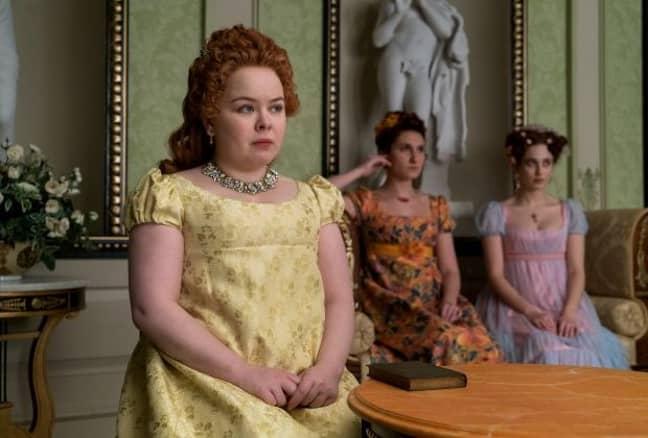 Nicola Coughlan plays Penelope Featherington in Bridgerton (Credit: Netflix)