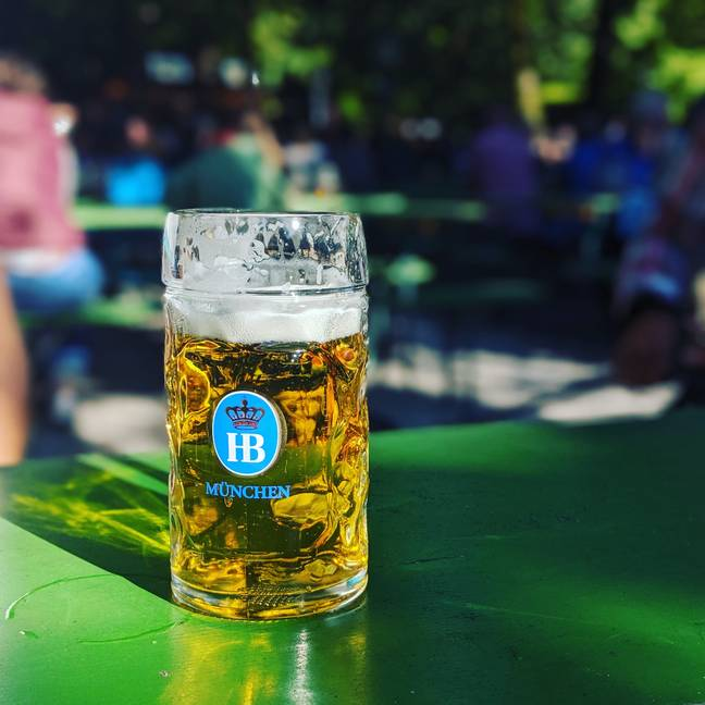 Steins (two-pint glasses) could be the new normal (Credit: SWNS)