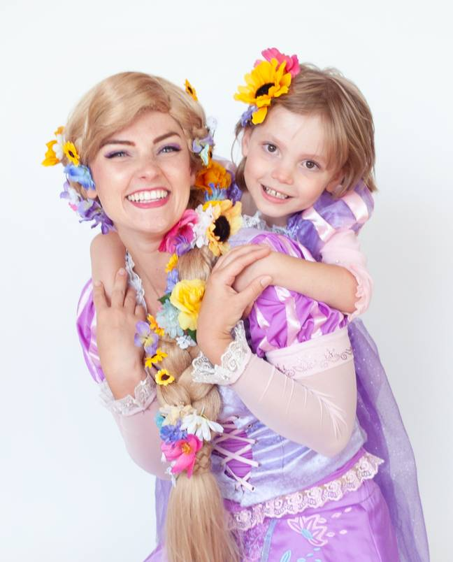 Elias and Rapunzel (Credit: Boys Can Be Princesses Too Project)