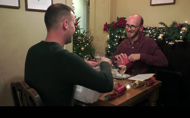 Paul and Alex were featured in Wednesday's First Dates Christmas special (Credit: Channel 4)