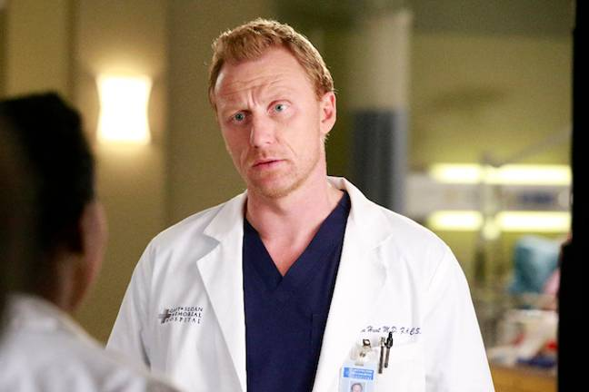 Dr Owen Hunt used to serve as a medic in Iraq (Credit: ABC)