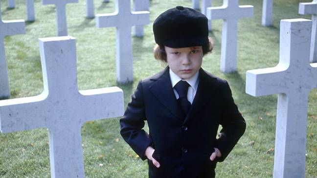 'The Omen' actor Gregory Peck was booked on to a flight that crashed and killed everyone aboard, luckily cancelling beforehand (Credit: 20th Century Fox)