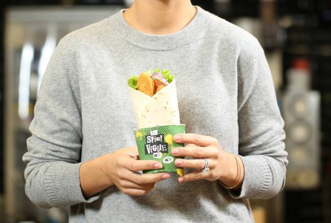The fast food chain has expanded it's veggie range. (Credit: McDonald's)