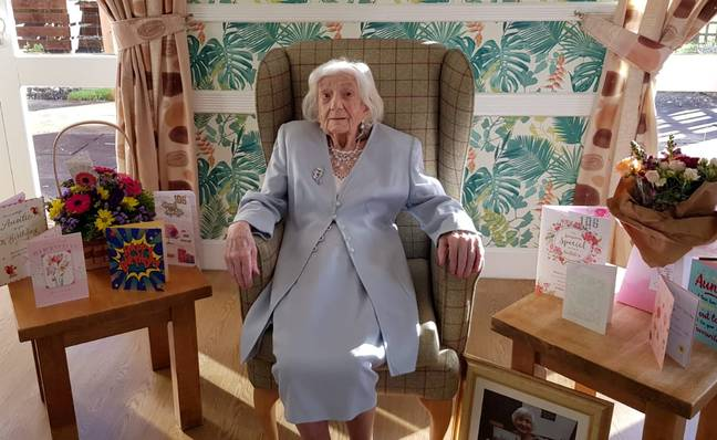 Mary has just turned 106 (Credit: SWNS)