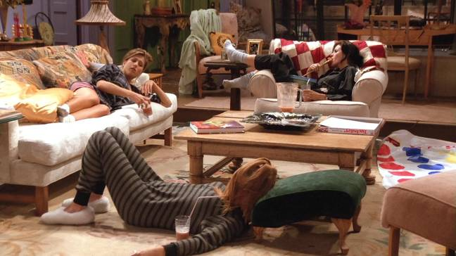 We're ready to snuggle up for a 'Friends' themed sleepover (Credit: Warner Bros)