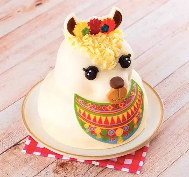 Lucky the Llama is Tesco's celebration cake offering (Credit: Tesco)