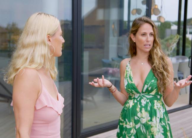 The reality series delves into the Hamptons real estate market (Credit: Netflix)