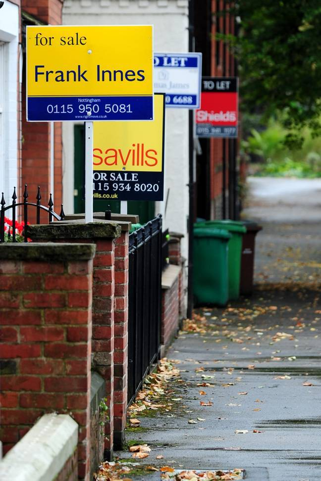 The number of mortgages available to first-time buyers with a 10 per cent deposit has plummeted over the past 12 months (Credit: PA)