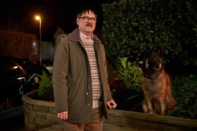 The show also starred Mark Heap as neighbour Jim (Credit: Channel 4)