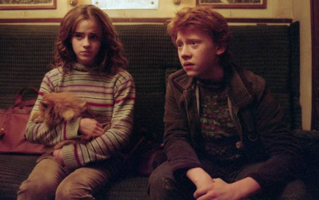 JK Rowling previously said Ron may not have been the most suitable partner for Hermione (Credit: Warner Bros)