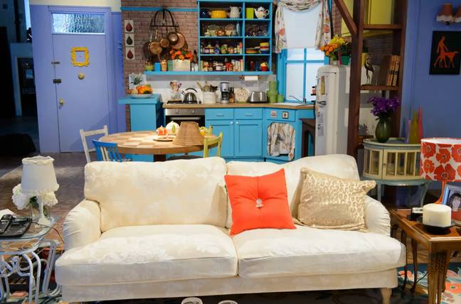 Fans can experience sets like Monica and Rachel's apartment (Credit: PA)