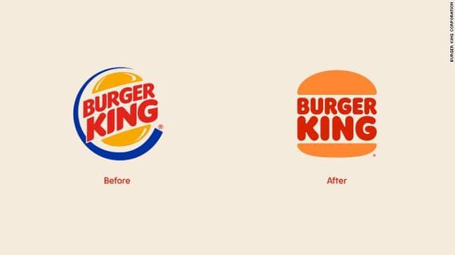 The Burger King logo has been the same since 1999 (Credit: Burger King)