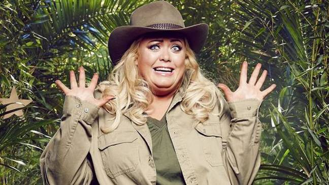 Gemma Collins left the I'm a Celebrity jungle after 72 hours when she took part in 2014 (Credit: ITV)