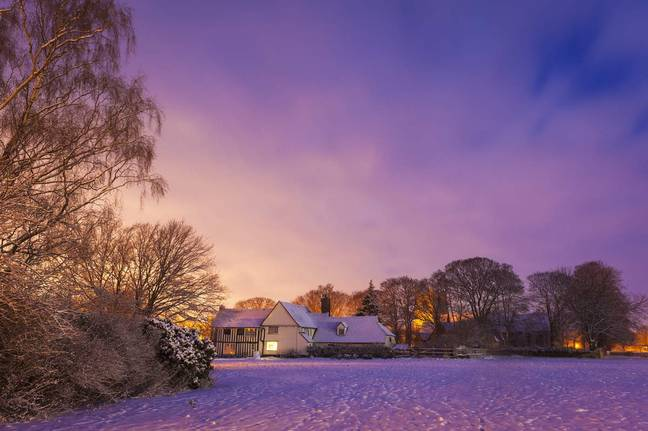 The UK could wake up to snow tomorrow (Stock image credit: PA)