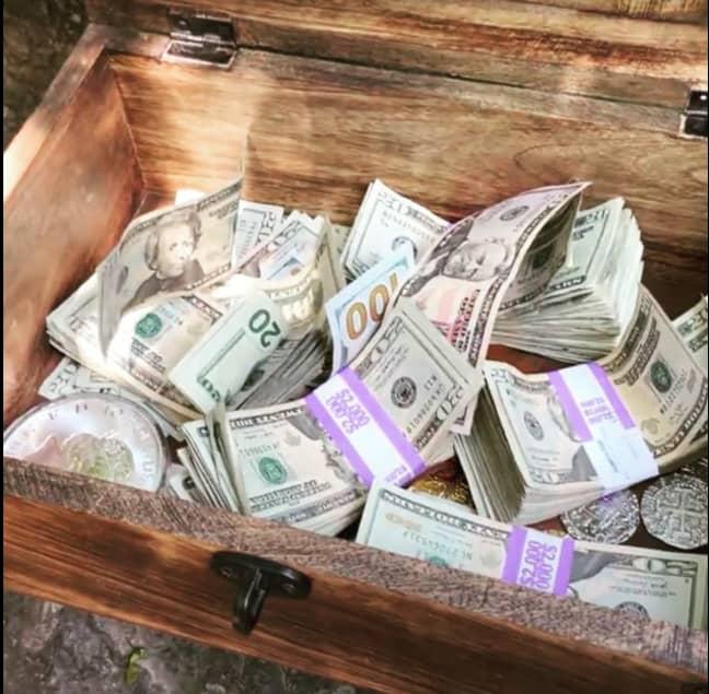 Over $10,000 has been hidden somewhere in Utah (Credit: Facebook - David Cline)