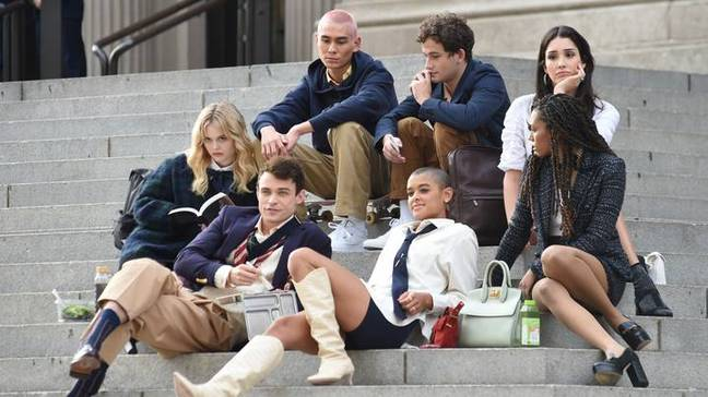 The cast of the new 'Gossip Girl' (Credit: Shutterstock)