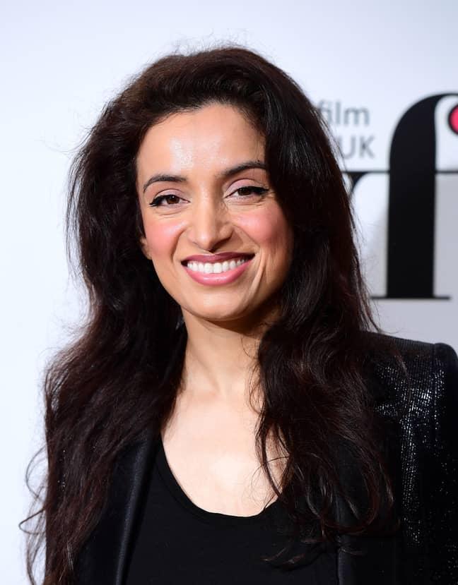 Filmmaker Deeyah Khan was also verbally abused (Credit: ITV)