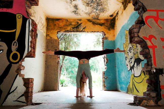 Nartani used to work as a yoga and dance teacher (Credit: PA)