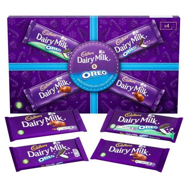 The Cadbury Oreo Selection Box (Credit: Cadbury)