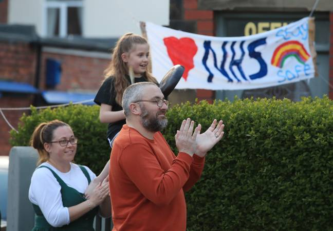 Clapping for the NHS was a key part of lockdown one (Credit: PA Images)