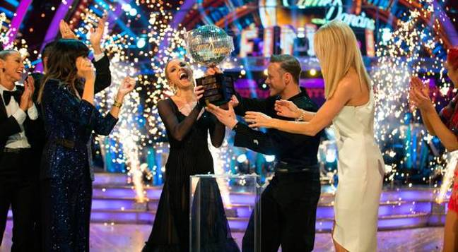 Stacey and Kevin won the competition last weekend. (Credit: BBC)