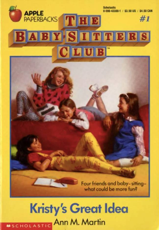 There are over 200 Baby-Sitters Club books in total (Credit: Scholastic)