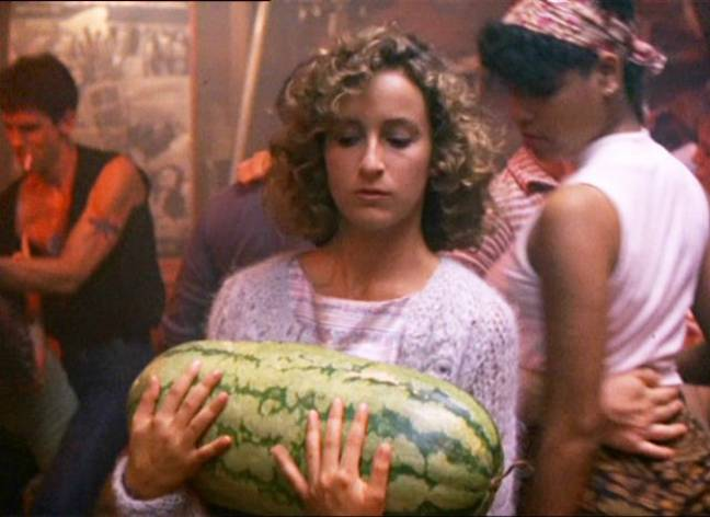 The movie spawned one of the most memorable lines in cinema, 'I carried a watermellon' (Credit: Warner Bros)
