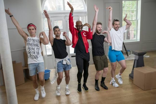 The programme comes from the creators of 'Queer Eye' (Credit: Netflix)