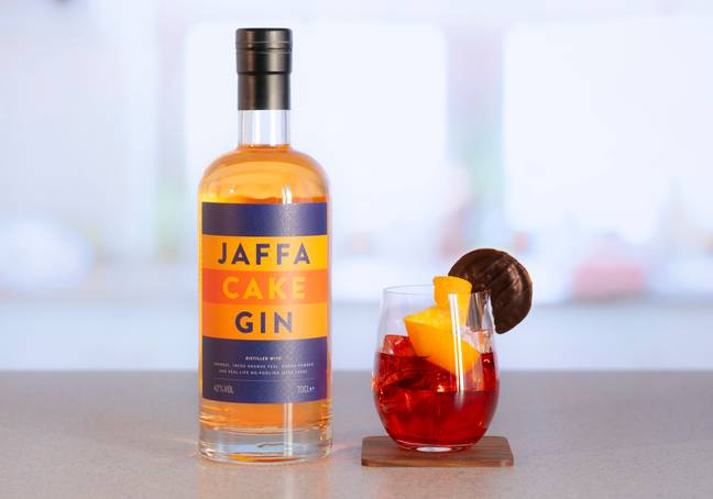 You can use the gin to create a Jaffa Cake Negroni Cocktail (Credit: Master of Malt)