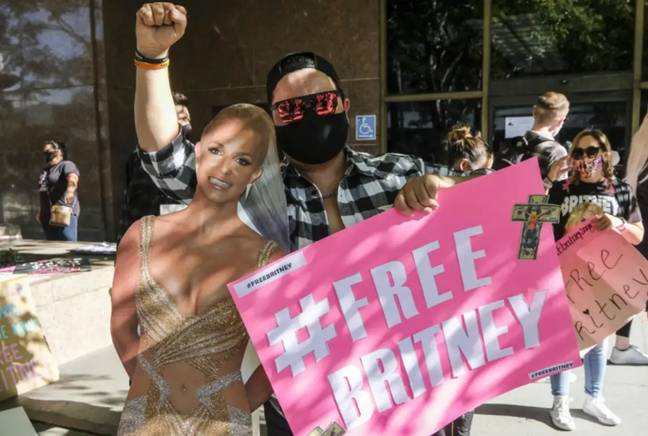 Britney's fans campaigned for the conservatorship to end (Credit: PA)
