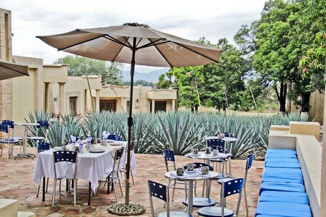 The boutique hotel features a picturesque restaurant (Credit: Matices Hotel de Barricas)