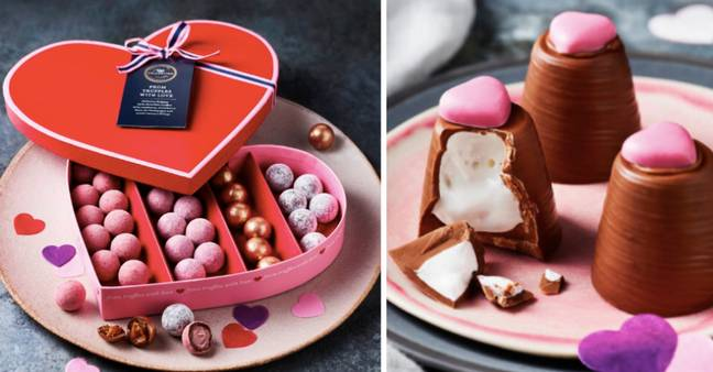 There are tonnes of chocolatey gifts too (Credit: M&S)
