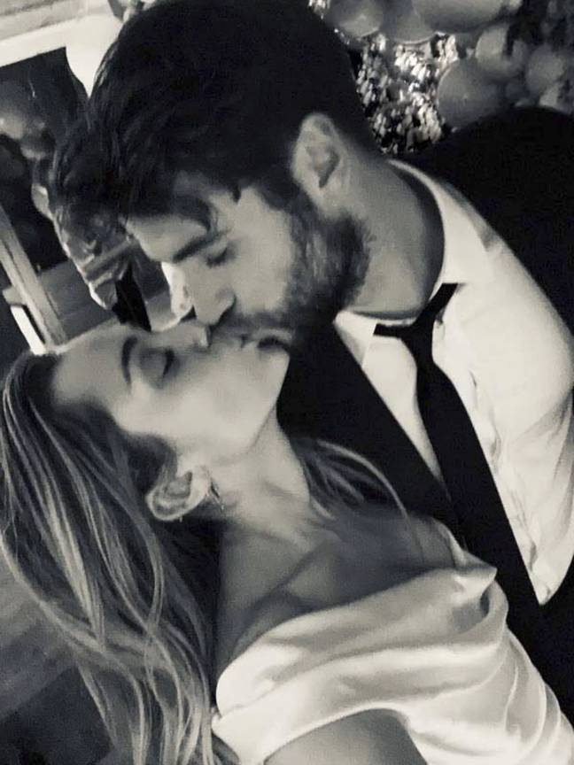 Miley and Liam tied the knot in 2018 (Credit: Miley Cyrus)
