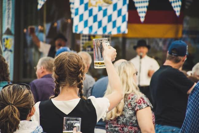 Large beer halls (bierkellers) are the standard in Germany (Credit: Pexels)