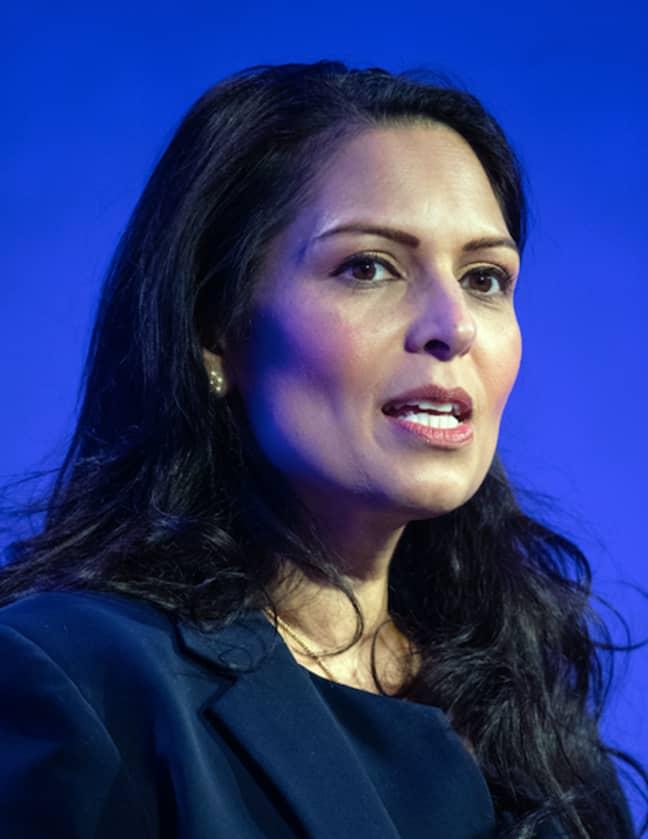 Priti Patel said women in lockdown can still visit refuges (Credit: PA)