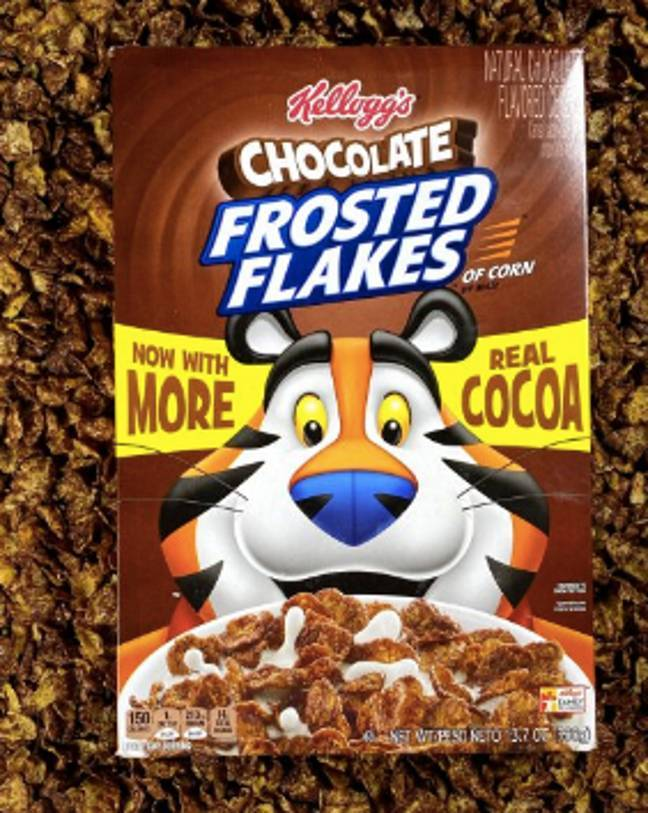 You can now buy Kellogg's Chocolate Frosted Flakes in the UK (Credit: Kellogg's)
